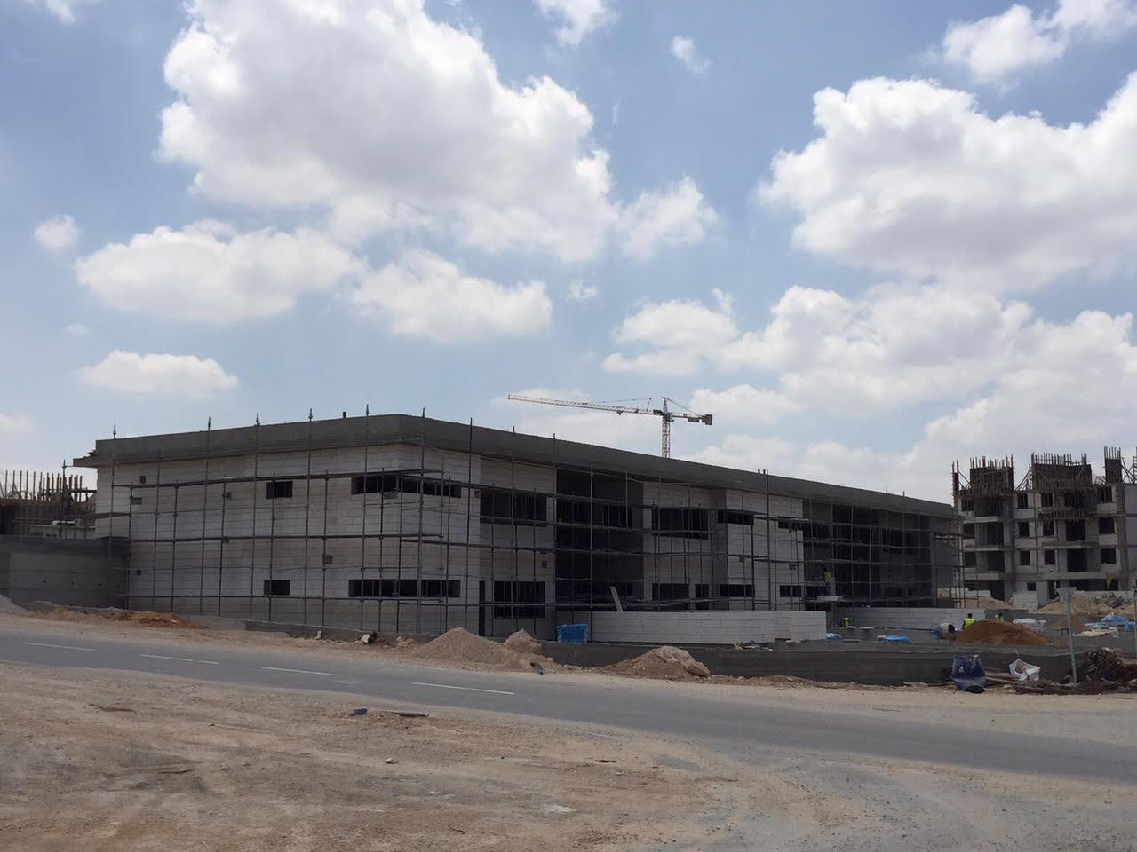 גנים בחריש בבנייה, מאי 2015