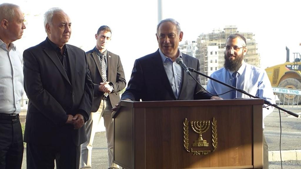 ביקור ראש הממשלה בחריש - נובמבר 2015