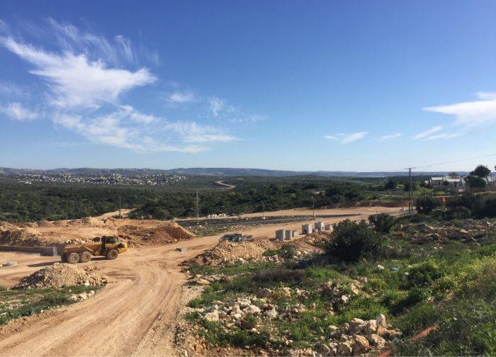 עבודות תשתית ופיתוח בשכונת אור המזרח
