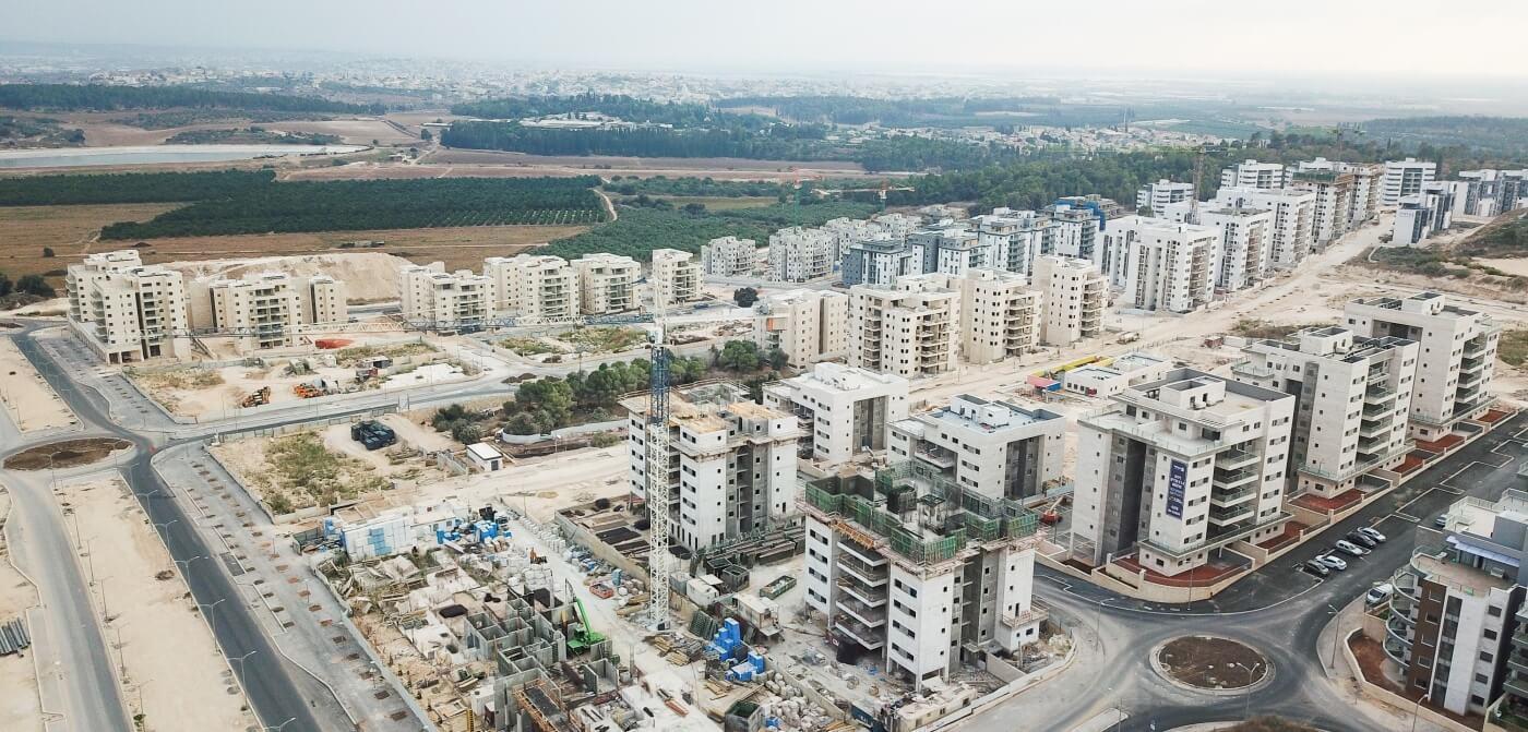 בנייה בשכונת הפרחים 2019