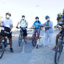 איציק לב, יניב הכהן, מיכל אגמון, ענבל גולדשטיין,ינון בירן, אופניים בחריש חריש בשביל האופניים